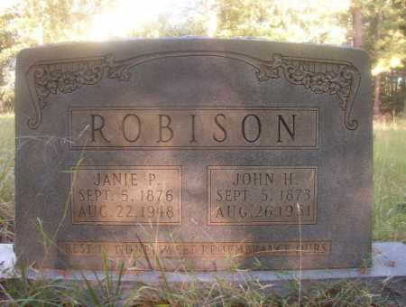 ROBISON, JOHN H - Ouachita County, Arkansas | JOHN H ROBISON - Arkansas Gravestone Photos
