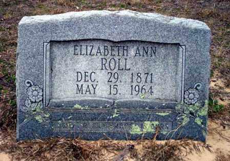 ROLL, ELIZABETH ANN - Ouachita County, Arkansas | ELIZABETH ANN ROLL - Arkansas Gravestone Photos