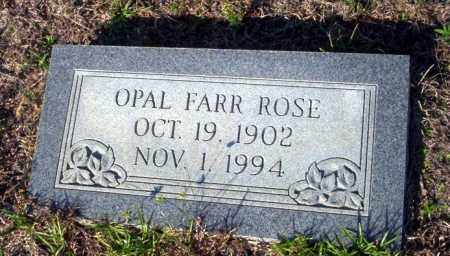 ROSE, OPAL - Ouachita County, Arkansas | OPAL ROSE - Arkansas Gravestone Photos
