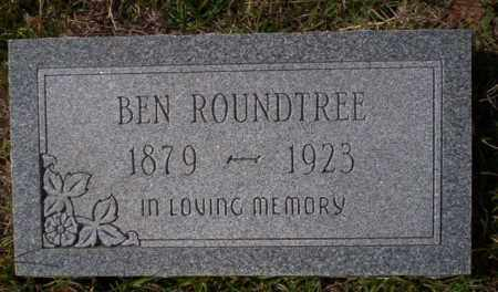 ROUNDTREE, BEN - Ouachita County, Arkansas | BEN ROUNDTREE - Arkansas Gravestone Photos