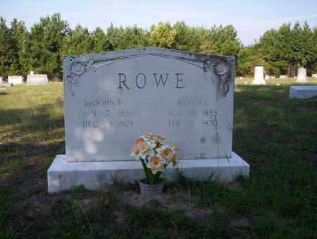 ROWE, MERCIA C - Ouachita County, Arkansas | MERCIA C ROWE - Arkansas Gravestone Photos