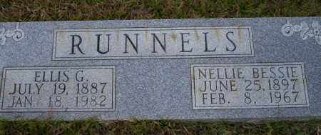 RUNNELS, NELLIE BESSIE - Ouachita County, Arkansas | NELLIE BESSIE RUNNELS - Arkansas Gravestone Photos