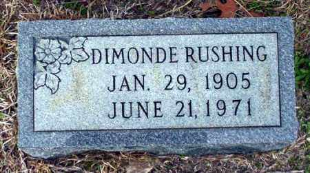 RUSHING, DIMONDE - Ouachita County, Arkansas | DIMONDE RUSHING - Arkansas Gravestone Photos
