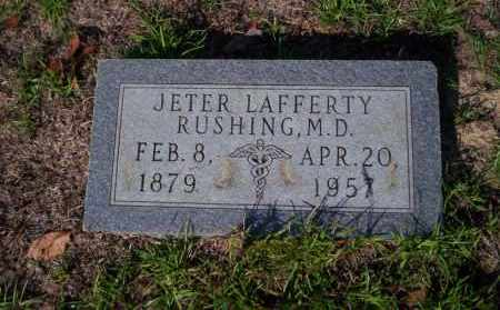 RUSHING M.D., JETER LAFFERTY - Ouachita County, Arkansas | JETER LAFFERTY RUSHING M.D. - Arkansas Gravestone Photos