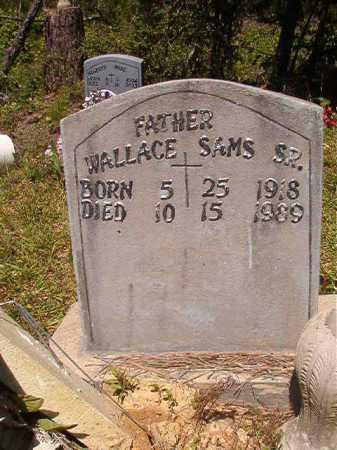 SAMS, SR, WALLACE - Ouachita County, Arkansas | WALLACE SAMS, SR - Arkansas Gravestone Photos
