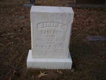 SANFORD, SARAH E - Ouachita County, Arkansas | SARAH E SANFORD - Arkansas Gravestone Photos