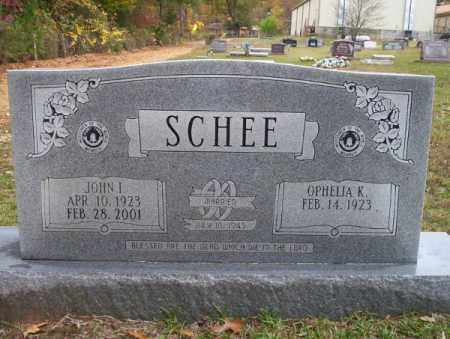 SCHEE, JOHN I - Ouachita County, Arkansas | JOHN I SCHEE - Arkansas Gravestone Photos