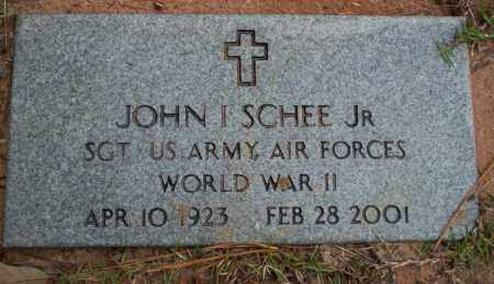 SCHEE, JR (VETERAN WWII), JOHN I - Ouachita County, Arkansas | JOHN I SCHEE, JR (VETERAN WWII) - Arkansas Gravestone Photos