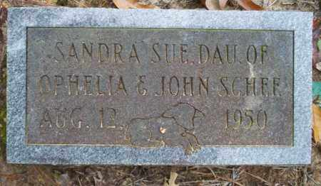SCHEE, SANDRA SUE - Ouachita County, Arkansas | SANDRA SUE SCHEE - Arkansas Gravestone Photos