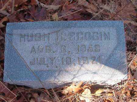 SCOGIN, HUGH H - Ouachita County, Arkansas | HUGH H SCOGIN - Arkansas Gravestone Photos