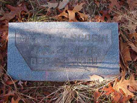 SCOGIN, MATTIE C - Ouachita County, Arkansas | MATTIE C SCOGIN - Arkansas Gravestone Photos