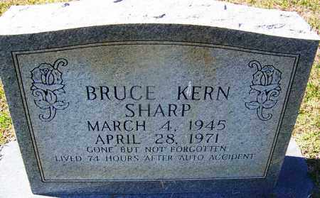 SHARP, BRUCE KERN - Ouachita County, Arkansas | BRUCE KERN SHARP - Arkansas Gravestone Photos