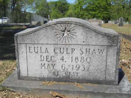 CULP SHAW, EULA - Ouachita County, Arkansas | EULA CULP SHAW - Arkansas Gravestone Photos