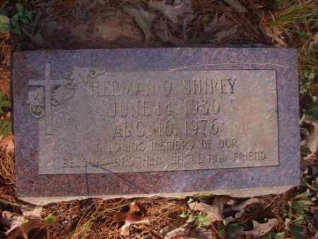 SHIREY, HERMAN O - Ouachita County, Arkansas | HERMAN O SHIREY - Arkansas Gravestone Photos