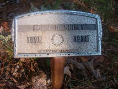 SHIREY, JOHN D - Ouachita County, Arkansas | JOHN D SHIREY - Arkansas Gravestone Photos