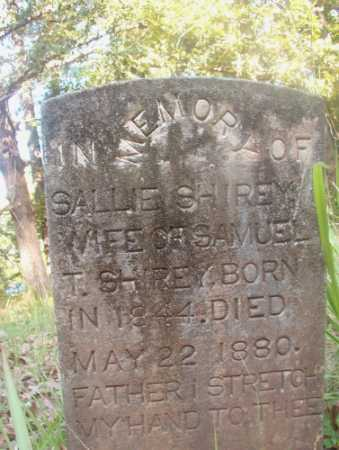SHIREY, SALLIE - Ouachita County, Arkansas | SALLIE SHIREY - Arkansas Gravestone Photos