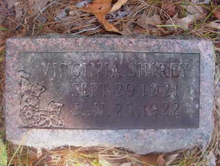 SHIREY, VIRGINIA - Ouachita County, Arkansas | VIRGINIA SHIREY - Arkansas Gravestone Photos