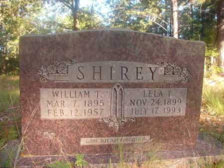 SHIREY, WILLIAM T - Ouachita County, Arkansas | WILLIAM T SHIREY - Arkansas Gravestone Photos