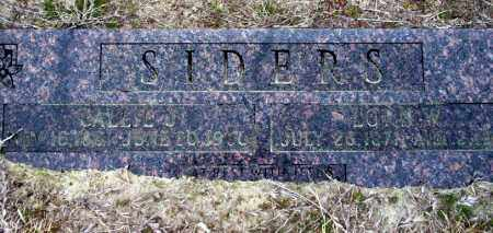 SIDERS, LORN W - Ouachita County, Arkansas | LORN W SIDERS - Arkansas Gravestone Photos