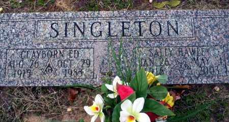 SINGLETON, CLAYBORN ED - Ouachita County, Arkansas | CLAYBORN ED SINGLETON - Arkansas Gravestone Photos