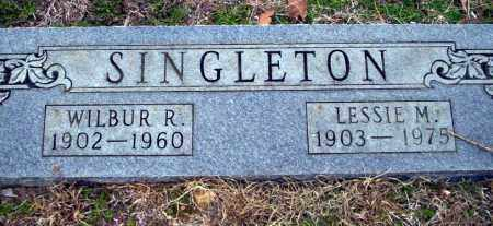 SINGLETON, LESSIE M - Ouachita County, Arkansas | LESSIE M SINGLETON - Arkansas Gravestone Photos