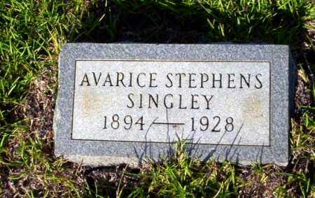 STEPHENS SINGLEY, AVARICE - Ouachita County, Arkansas | AVARICE STEPHENS SINGLEY - Arkansas Gravestone Photos