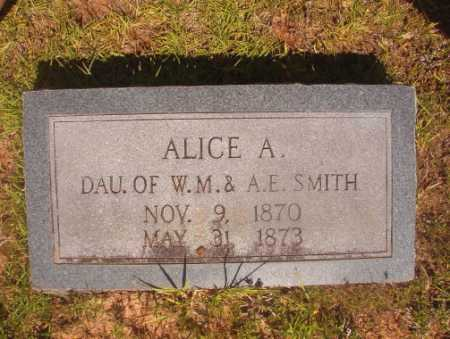 SMITH, ALICE A - Ouachita County, Arkansas | ALICE A SMITH - Arkansas Gravestone Photos