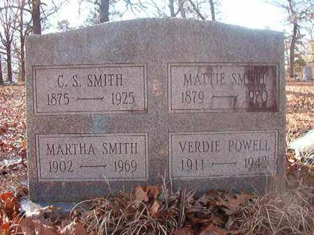 SMITH, MATTIE - Ouachita County, Arkansas | MATTIE SMITH - Arkansas Gravestone Photos