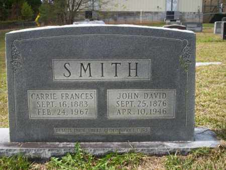 SMITH, CARRIE FRANCES - Ouachita County, Arkansas | CARRIE FRANCES SMITH - Arkansas Gravestone Photos