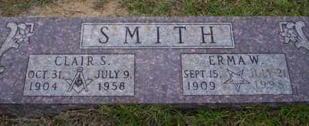 SMITH, CLAIR S - Ouachita County, Arkansas | CLAIR S SMITH - Arkansas Gravestone Photos