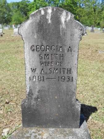 SMITH, GEORGIA A - Ouachita County, Arkansas | GEORGIA A SMITH - Arkansas Gravestone Photos