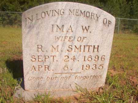 SMITH, IMA W - Ouachita County, Arkansas | IMA W SMITH - Arkansas Gravestone Photos
