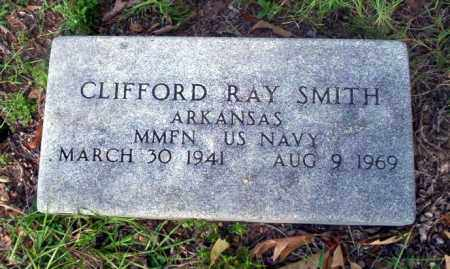 SMITH (VETERAN), CLIFFORD RAY - Ouachita County, Arkansas | CLIFFORD RAY SMITH (VETERAN) - Arkansas Gravestone Photos