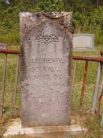SOCKWELL, LEE HENRY - Ouachita County, Arkansas | LEE HENRY SOCKWELL - Arkansas Gravestone Photos