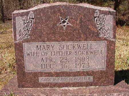 SOCKWELL, MARY - Ouachita County, Arkansas | MARY SOCKWELL - Arkansas Gravestone Photos