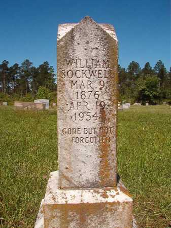 SOCKWELL, WILLIAM - Ouachita County, Arkansas | WILLIAM SOCKWELL - Arkansas Gravestone Photos