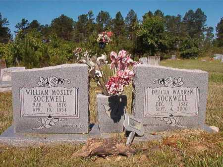 SOCKWELL, WILLIAM MOSLEY - Ouachita County, Arkansas | WILLIAM MOSLEY SOCKWELL - Arkansas Gravestone Photos