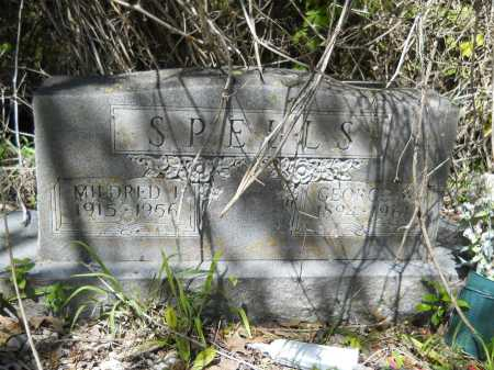 SPELLS, MILDRED I - Ouachita County, Arkansas | MILDRED I SPELLS - Arkansas Gravestone Photos