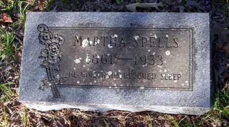 SPELLS, MARTHA - Ouachita County, Arkansas | MARTHA SPELLS - Arkansas Gravestone Photos