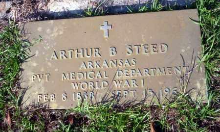 STEED (VETERAN WWI), ARTHUR B - Ouachita County, Arkansas | ARTHUR B STEED (VETERAN WWI) - Arkansas Gravestone Photos