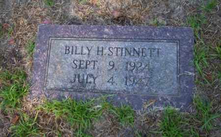 STINNETT, BILLY H - Ouachita County, Arkansas | BILLY H STINNETT - Arkansas Gravestone Photos