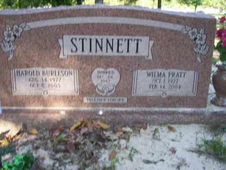 PRATT STINNETT, WILMA - Ouachita County, Arkansas | WILMA PRATT STINNETT - Arkansas Gravestone Photos