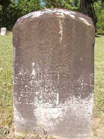 STOCKWELL, SARAH - Ouachita County, Arkansas | SARAH STOCKWELL - Arkansas Gravestone Photos