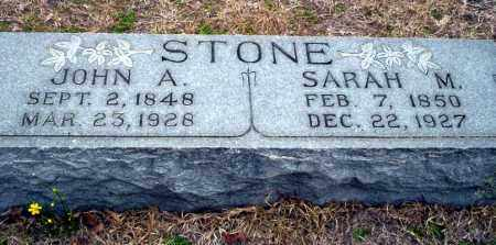 STONE, JOHN A - Ouachita County, Arkansas | JOHN A STONE - Arkansas Gravestone Photos