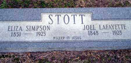 STOTT, ELIZA - Ouachita County, Arkansas | ELIZA STOTT - Arkansas Gravestone Photos