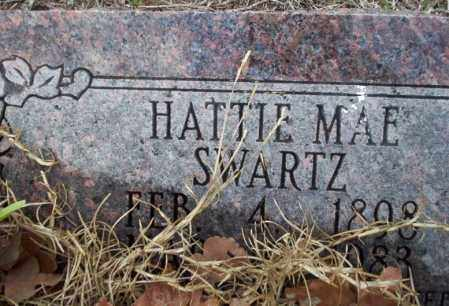 SWARTZ, HATTIE MAE - Ouachita County, Arkansas | HATTIE MAE SWARTZ - Arkansas Gravestone Photos