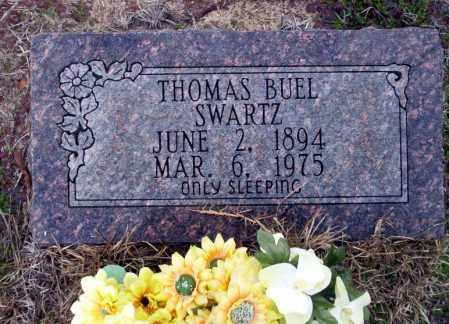 SWARTZ, THOMAS BUEL - Ouachita County, Arkansas | THOMAS BUEL SWARTZ - Arkansas Gravestone Photos