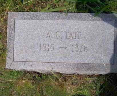 TATE, A.G. - Ouachita County, Arkansas | A.G. TATE - Arkansas Gravestone Photos