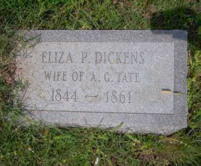 DICKENS TATE, ELIZA P - Ouachita County, Arkansas | ELIZA P DICKENS TATE - Arkansas Gravestone Photos