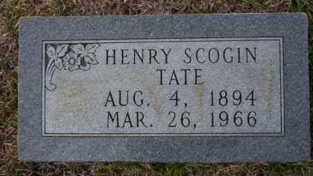 TATE, HENRY SCOGIN - Ouachita County, Arkansas | HENRY SCOGIN TATE - Arkansas Gravestone Photos
